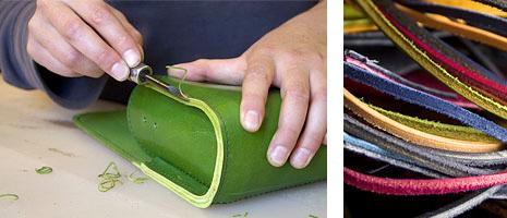 f40d62e643aa3 Die Lederwerkstatt - in Handarbeit hergestellte Lederwaren aus ...